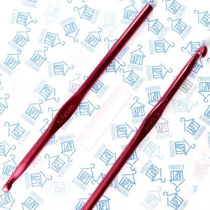 Крючок металлический для вязания 6 мм