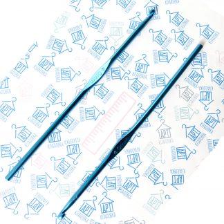 Крючок металлический для вязания 4 мм