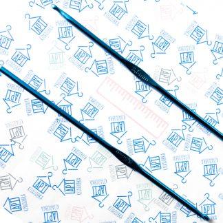 Крючок металлический для вязания 3,5 мм