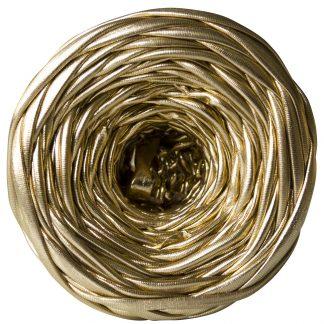 Трикотажная пряжа Metallic Pastel XL Золото (55м)